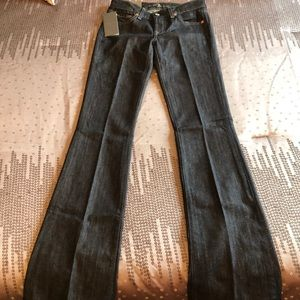 7 for all mankind long bootcut jeans, original fit